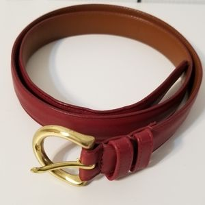 Coach Women Leather Belt